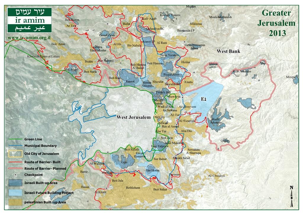 Greater Jerusalem 2013